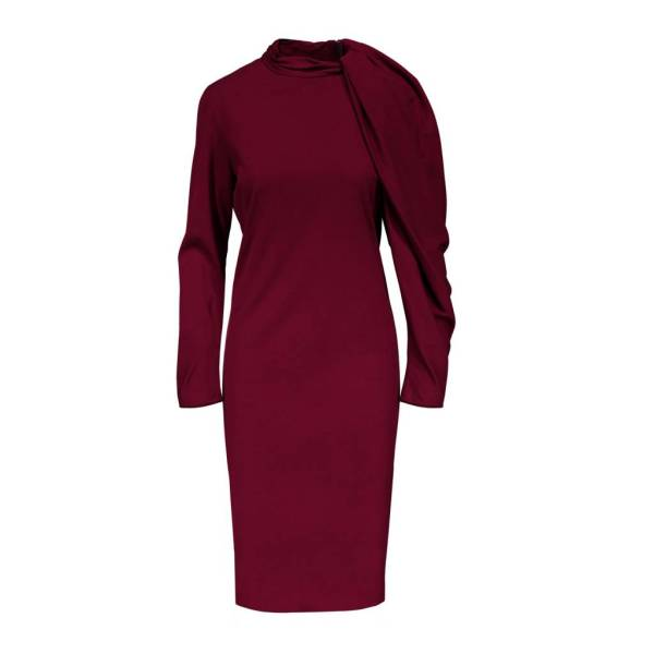 Lanvin Dress with Gathered Sleeve   Boutique LUC S Lanvin Lanvin Dress with Gathered Sleeve
