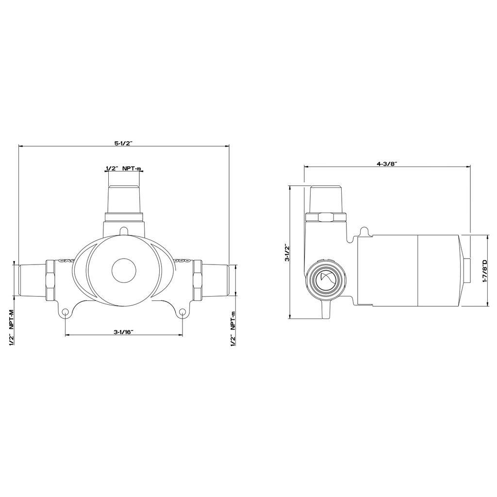 Gessi Ovale Wall Mounted Washbasin Mixer Control