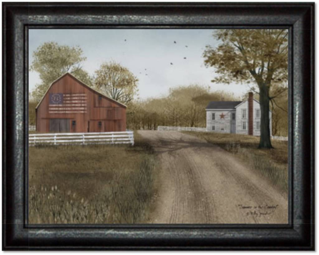 Summer In The Country Print Billy Jacobs Primitive Art