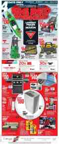 Canadian Tire Canada Flyer Big Red Weekend June 6 June 9 2019 Shopping Canada