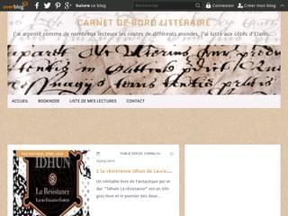 Carnet de bord littéraire