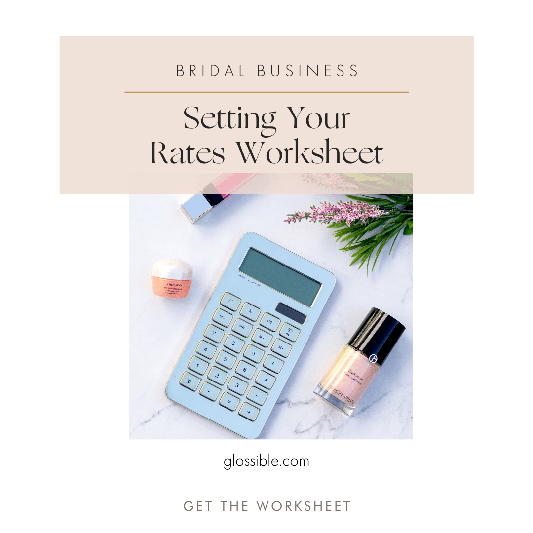 Setting Your Rates Worksheet