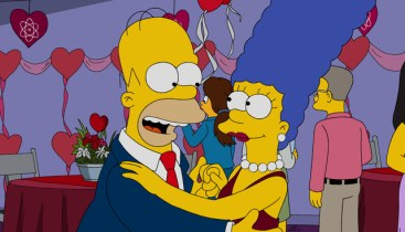 Image result for love is in the air simpsons