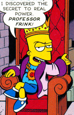King Bart Wikisimpsons The Simpsons Wiki