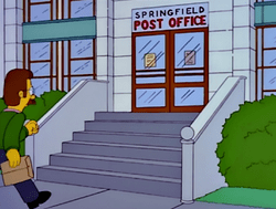 Springfield Post Office Wikisimpsons The Simpsons Wiki