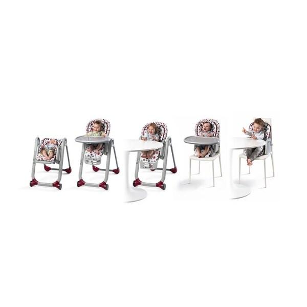 CHICCO - Cadeira Polly Progres5 Cherry