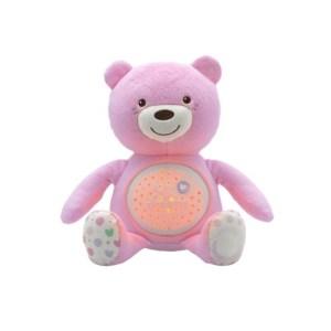 Chicco - Ursinho Boa Noite - Rosa