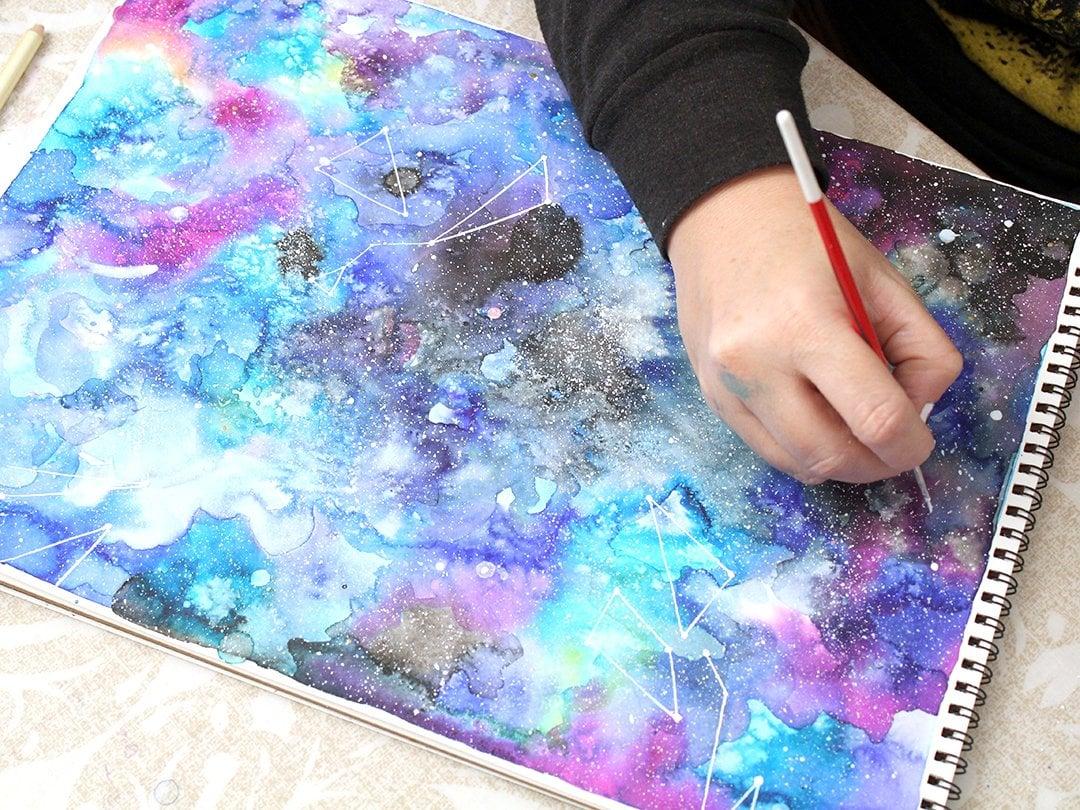 Modern Watercolor Techniques Beginner S Level Ana