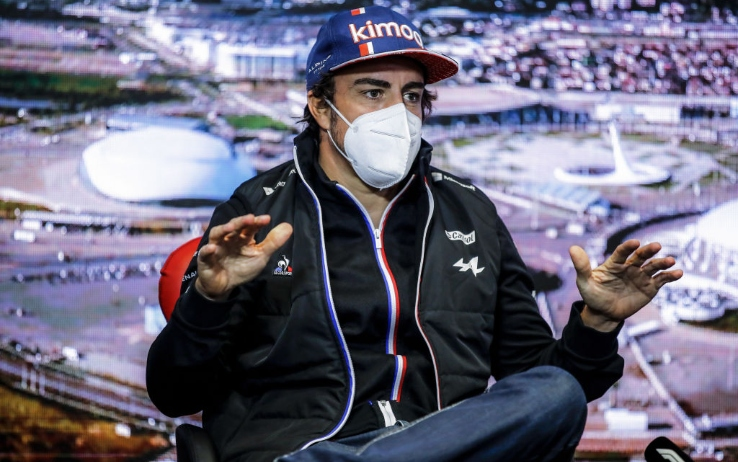F1, Alonso al GP di Russia: 'Lontani dal podio, concentriamoci su obiettivi  realistici'   Sky Sport