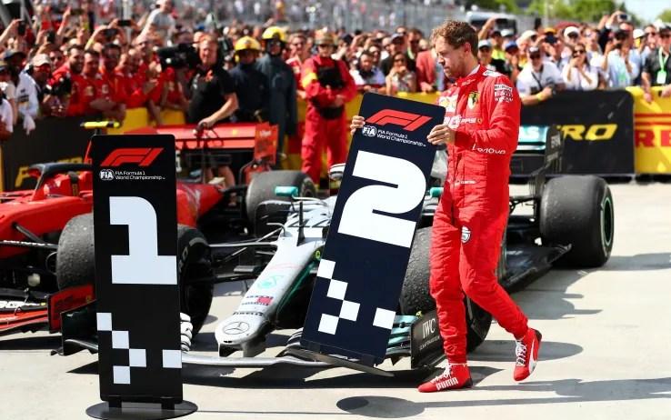 Vettel dopo la penalità al GP del Canada cambia segnaposto a ...