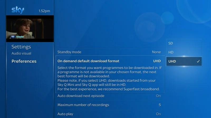 Downloading On Sky Q Sky Help Sky Com