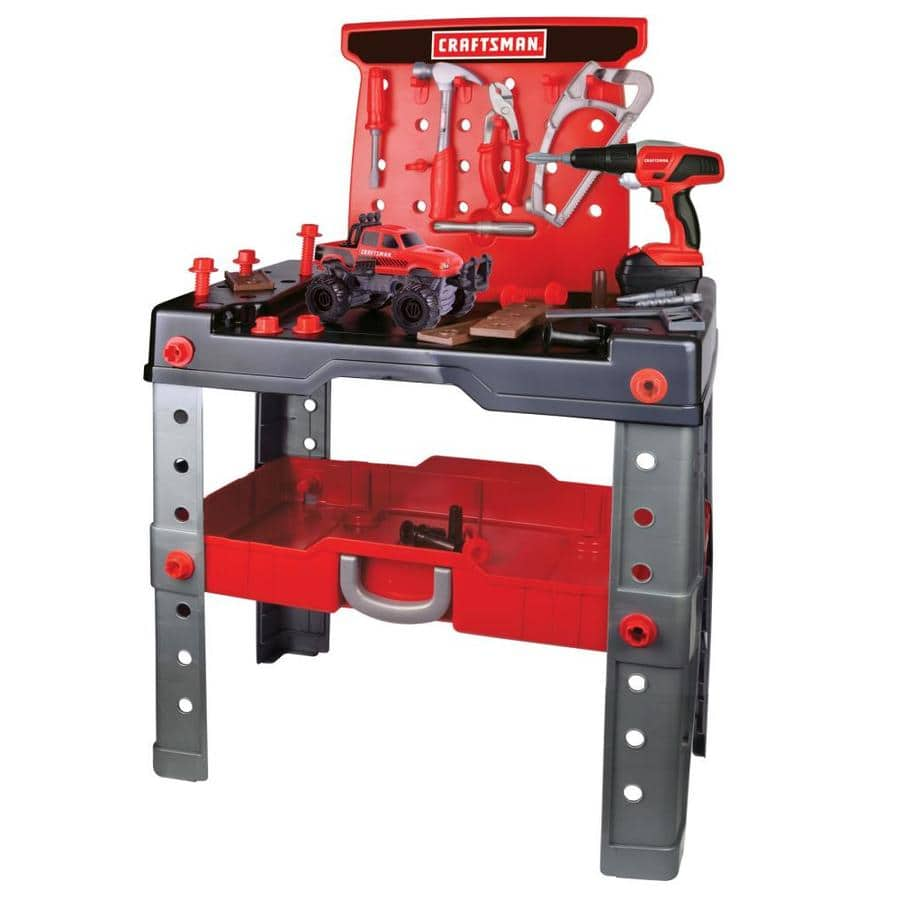 Lowe S Craftsman Kid S Toy Workbench And Tool Set 9 99