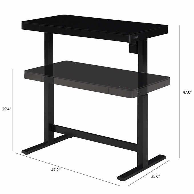 Costco Warehouse Tresanti Adjustable Desk 200 After 100 Off