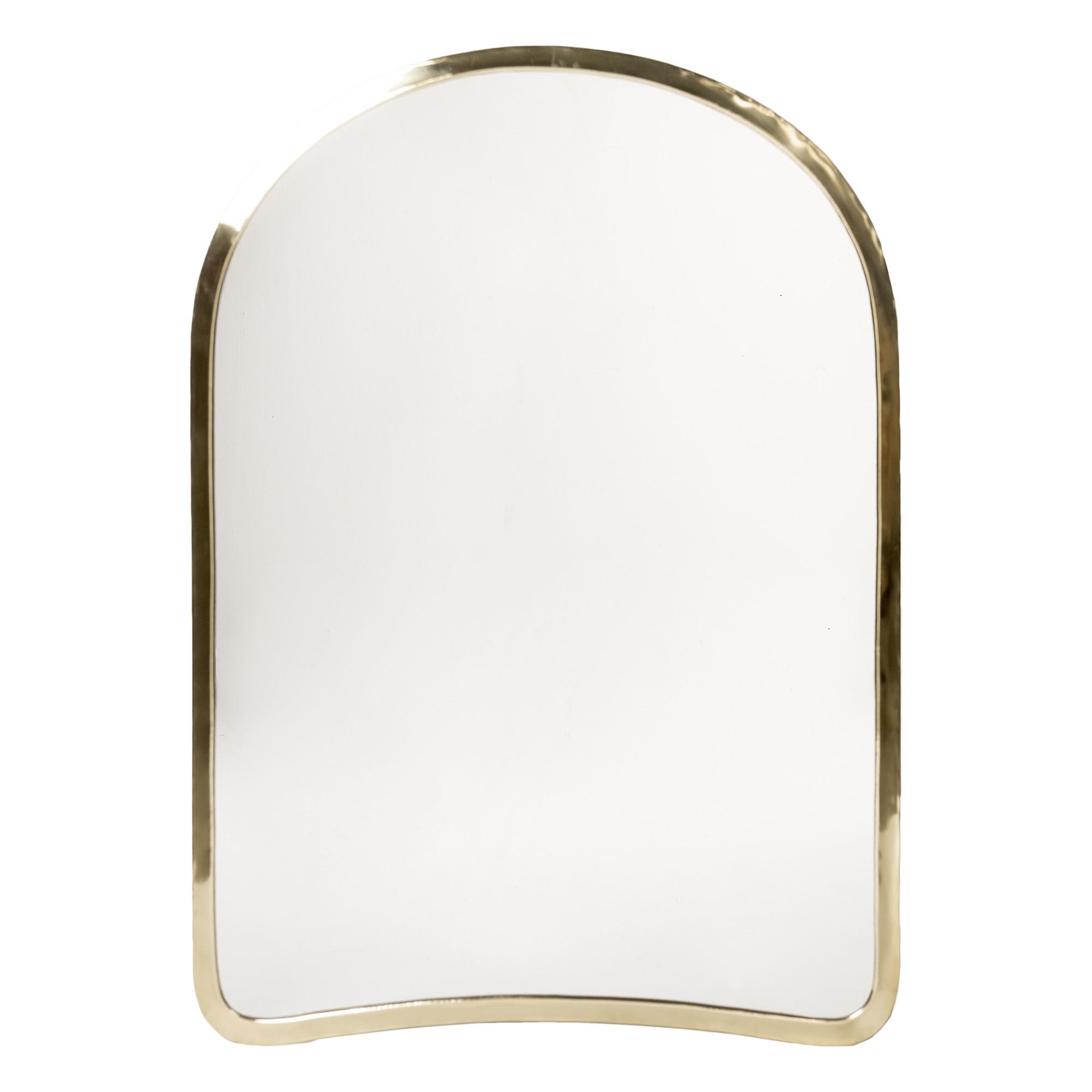 miroir doa laiton 75x52 cm laiton cosydar design adulte