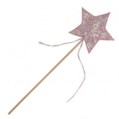 Varita de hada estrella liberty rosa