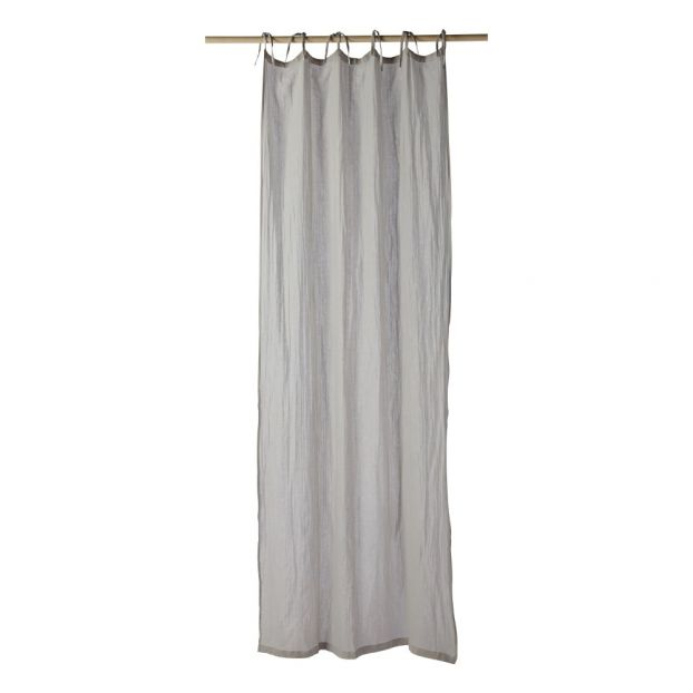 rideau dream 105x250 cm gris perle