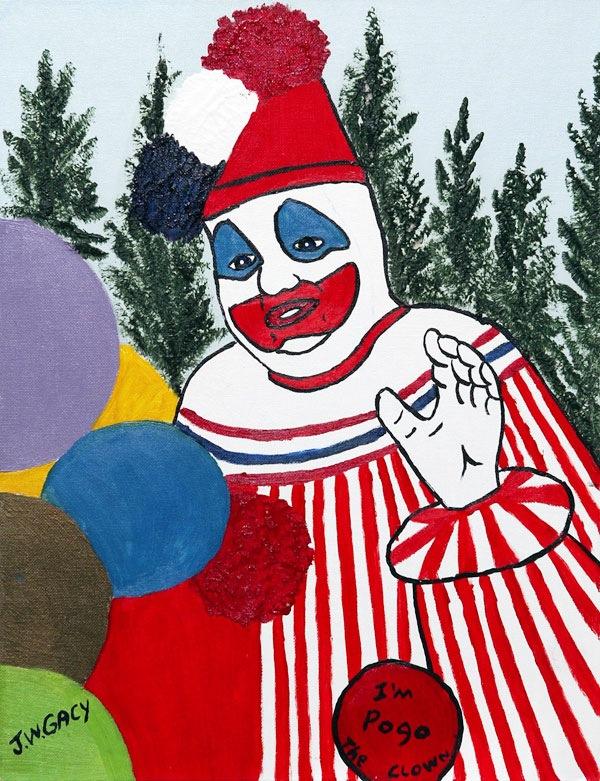 「ジョン・ウェイン・ゲイシー 絵」の画像検索結果