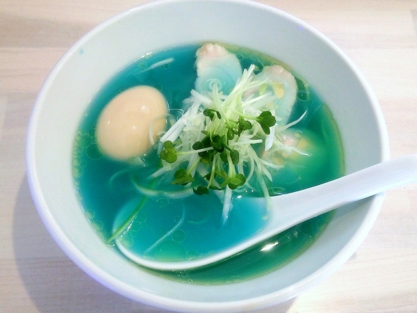 Image result for 青いラーメン 吉法師