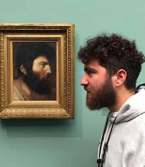 13 pessoas que encontraram seus sósias em museus. O 8 é simplesmente idêntico!