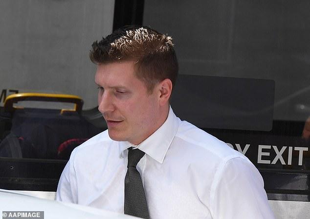 Lee and Mathew Holberton (pictured) dated for a