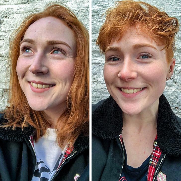 19 Fotos que mostram como um corte de cabelo pode transformar o rosto de uma pessoa