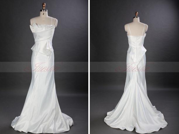 Modern And Chic Peplum Wedding Dresses 2014