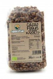 Cereali Soffiati con Grano Kamut Biologici- Cacao Flakes