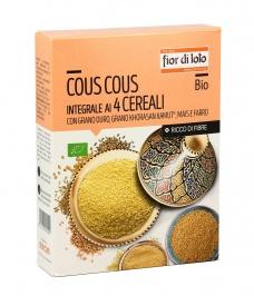 BIO-Prodotti: Cous Cous Integrale ai 4 Cereali