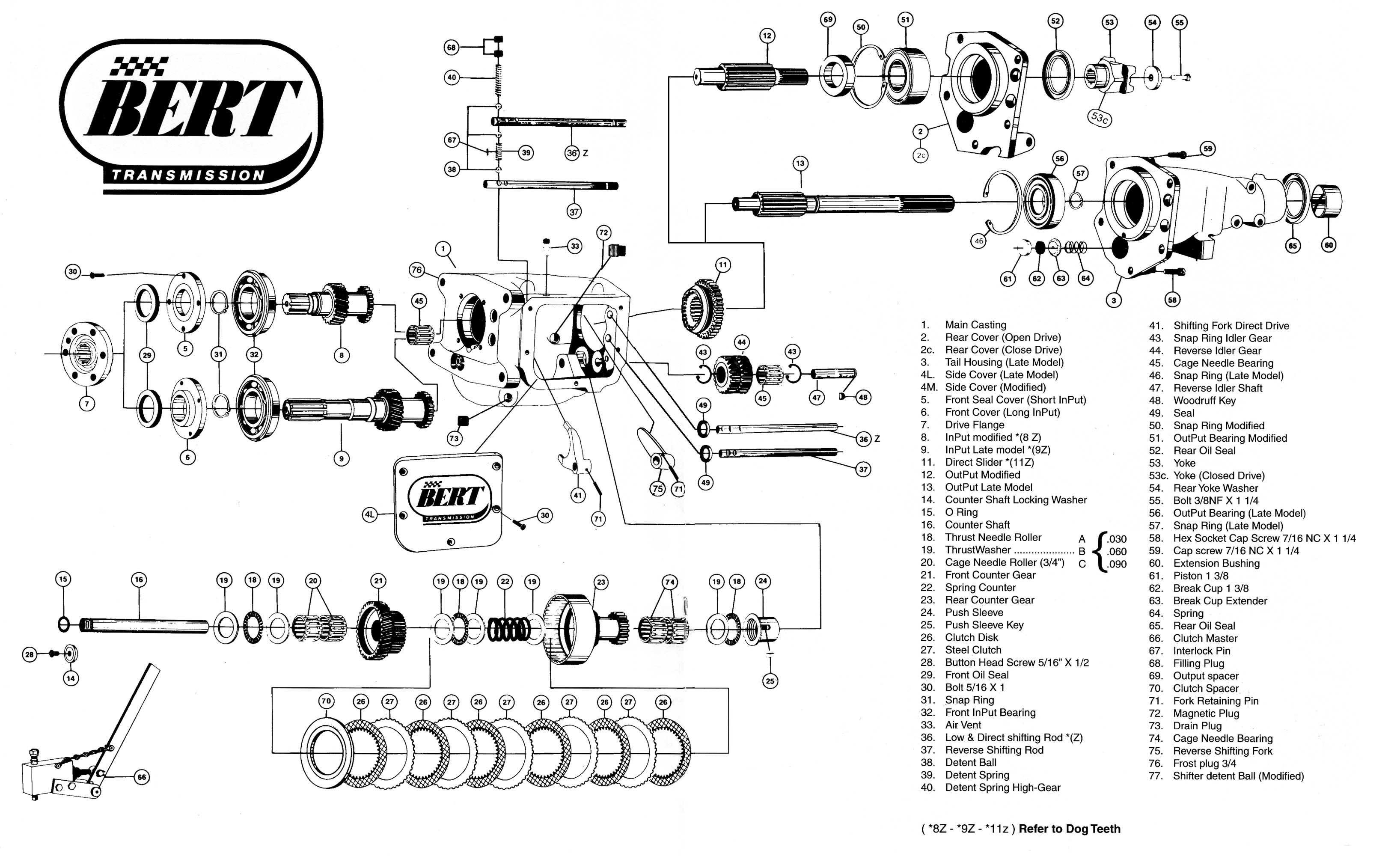Bert Lmz Aluminum Transmission