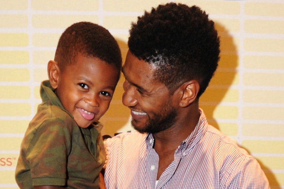Ushers Son Showing Miraculous Improvement After Pool