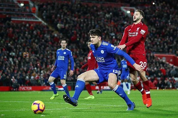 Harry Maguire was excellent as Leicester fought hard for a well-earned point at Anfield