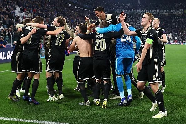 Ajax earned their Champions League semi-final place - for the first time in 22 years at Juventus' expense