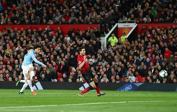 Sane's effort beat de Gea at his near post, but his impact was in stark contrast to Lukaku's for United