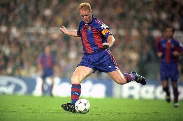 Koeman remains the most prolific goalscoring defender in history