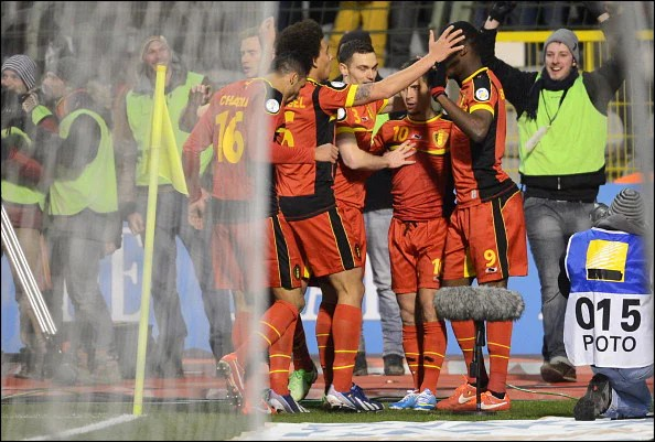 Belgium v Macedonia - FIFA 2014 World Cup Qualifier