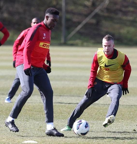 Manchester United Training