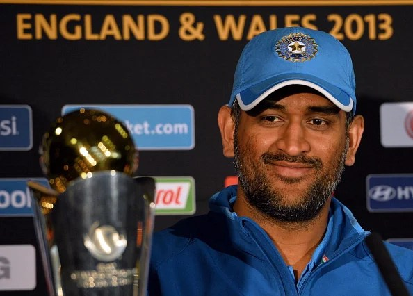 M. S. Dhoni: leading India from the front