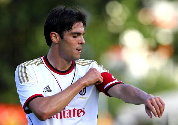 Kaka made a deadline day transfer back to AC Milan from Real Madrid