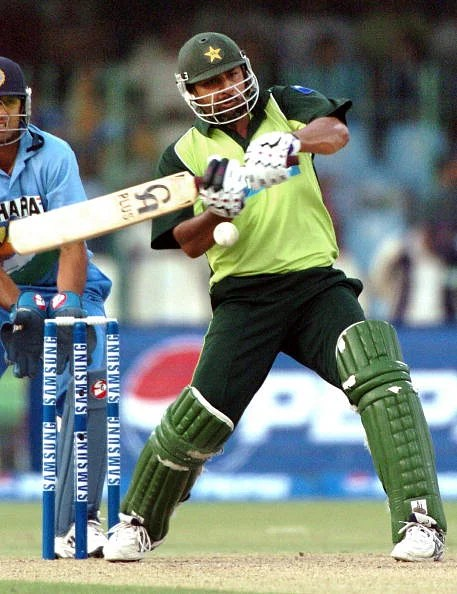 Pakistani cricket captain Inzamam-ul Haq