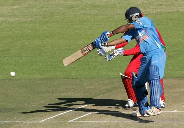 Ambati Rayudu finally made his International debut against Zimbabwe