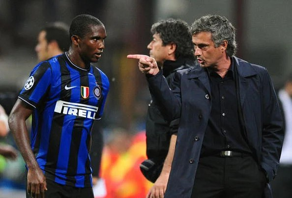 Samuel Eto'o has worked with Jose Mourinho before, at Inter Milan.
