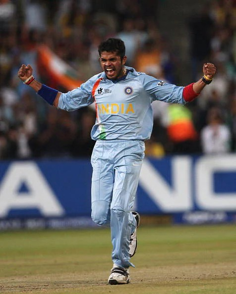 Sreesanth: Member of 2007 and 2011 World Cup squads