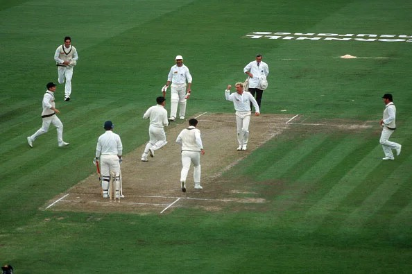 England v Australia, 1st  Test, Old Trafford, Jun 93