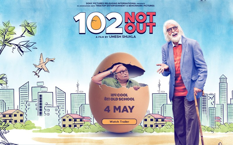 Image result for 102 not out poster hd