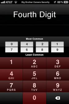 Most Common IPhone Passcodes Daniel Amitay