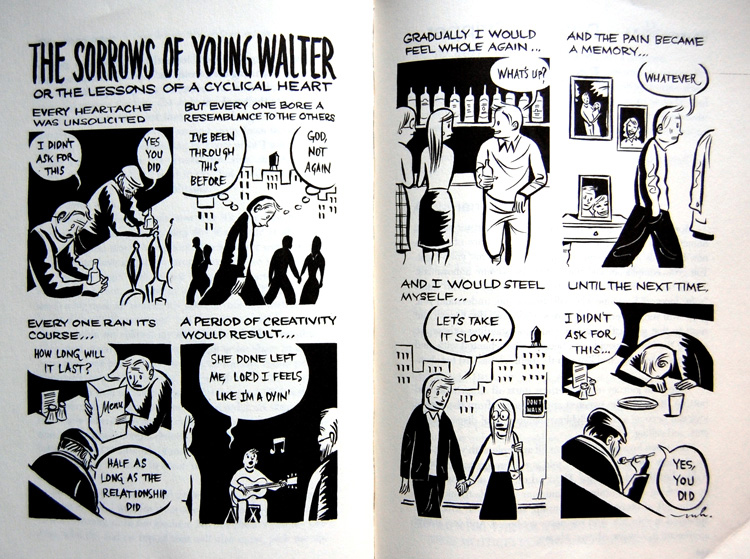 the sorrows of young walter by marcellus hall