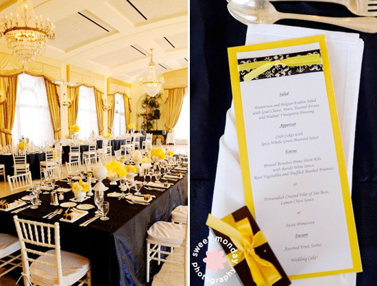Navy Blue And Yellow Wedding {with Calla Lilies} Con't