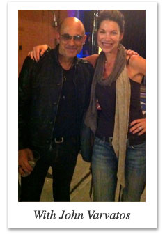 Karen Parker O'Brien and John Varvatos