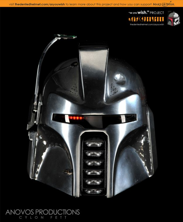 Awesome Custom Made BOBA FETT Helmets For Make A Wish GeekTyrant