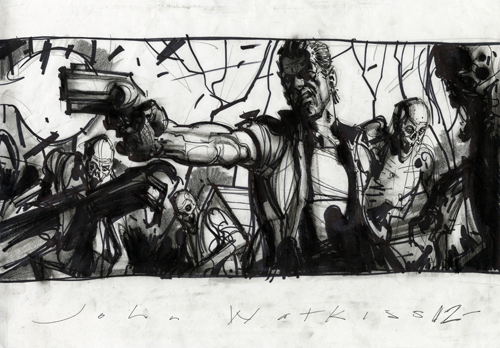 Great Concept Art For THE WALKING DEAD GeekTyrant